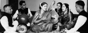 M S Subbulakshmi with Radha